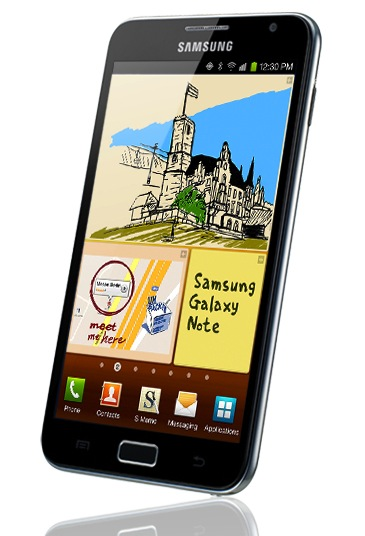 Samsung Confirms NFC Chip in Galaxy Note, though NFC Version Already Shipping in Korea