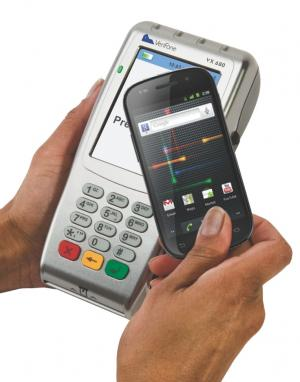 NFC phone and retail terminal